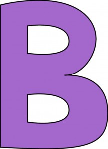 purple-alphabet-letter-b
