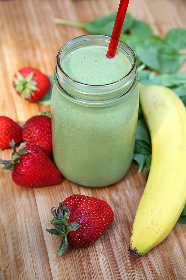Strawberry-Spinach-Smoothie