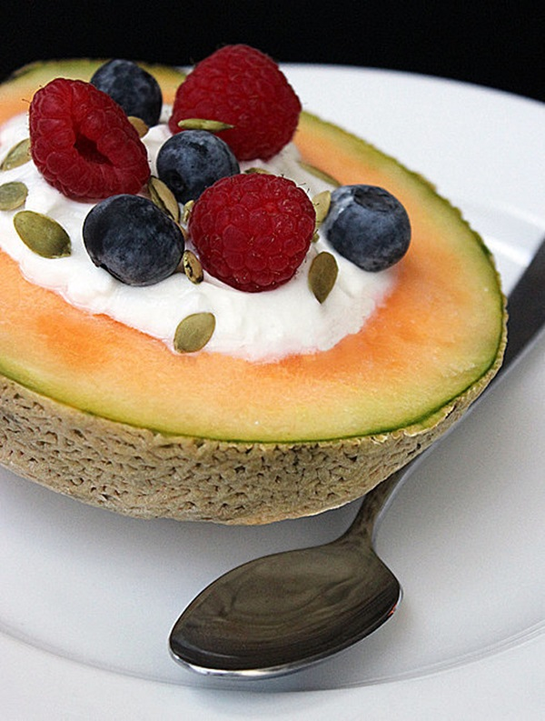 Yogurt-Melon-Bowl