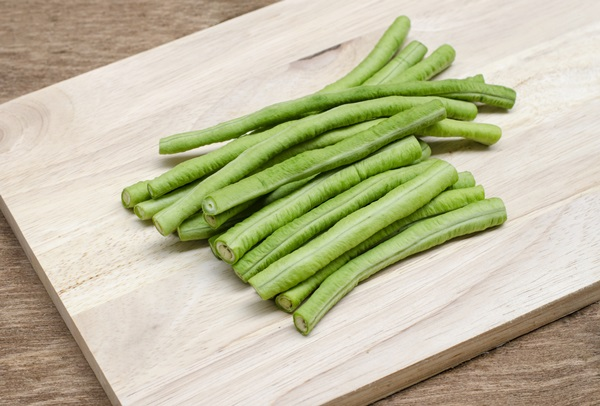 cow-pea on wood background