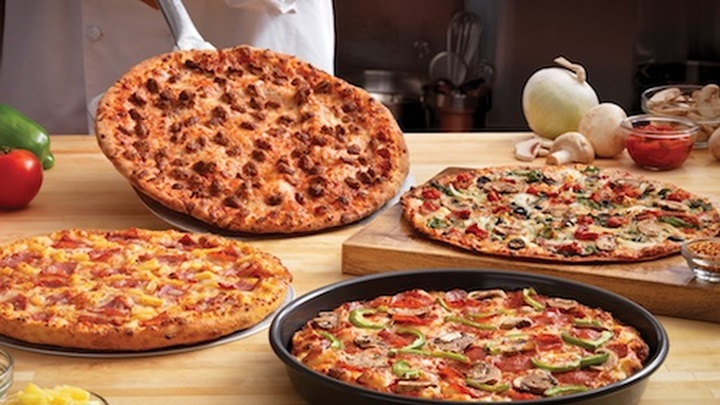Domino's Hand-Tossed pizza
