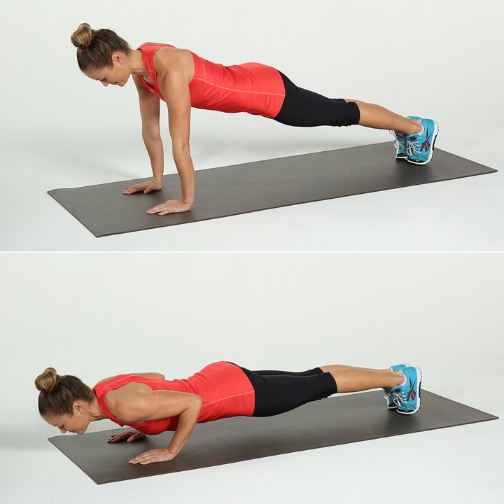 Chaturanga Push-Up