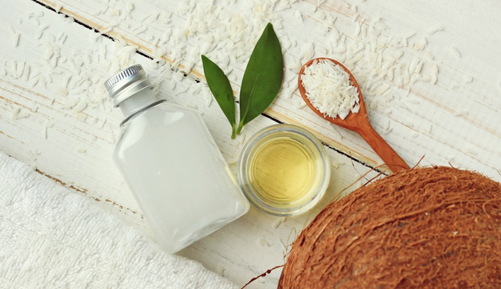 Coconut natural beauty treatment.