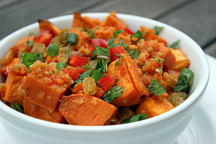 Tuesday Spicy Sweet Potato Salad 1