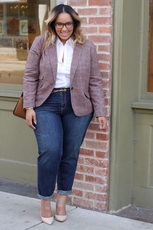 Work Outfits For Plus Size Women 11