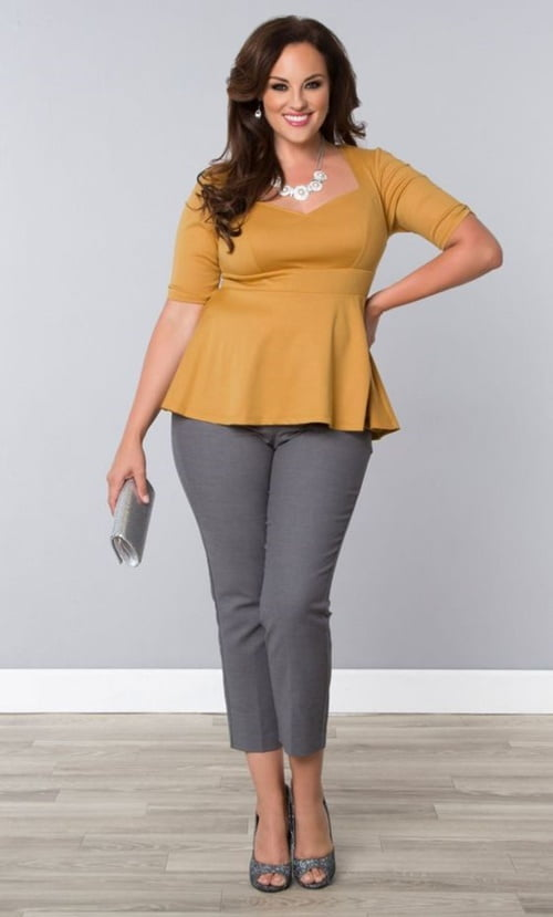 Work Outfits For Plus Size Women 20