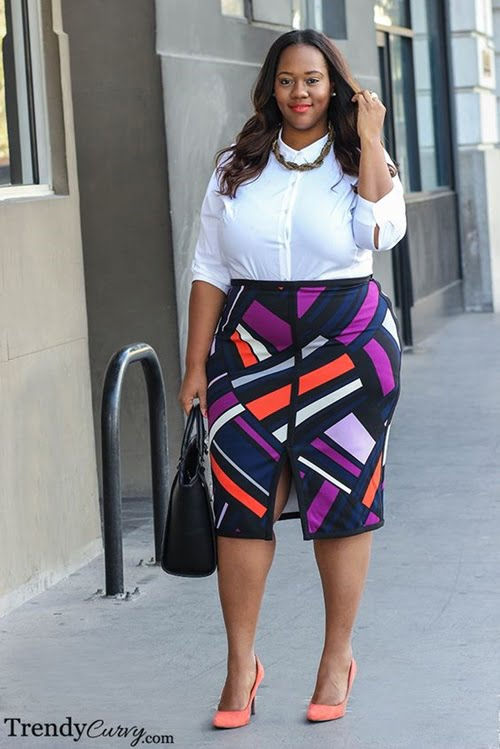 Work Outfits For Plus Size Women 22