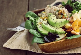 Avocado and Quinoa Salad with Chia Seed