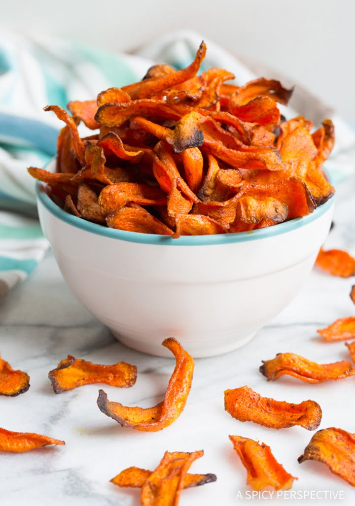 healthy-baked-carrot-chips-1