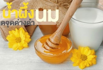 honey-fresh-milk-for-treatment-skin