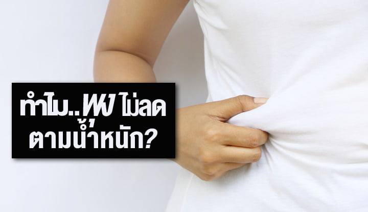 why-belly-fat-not-lost-align-with-weight