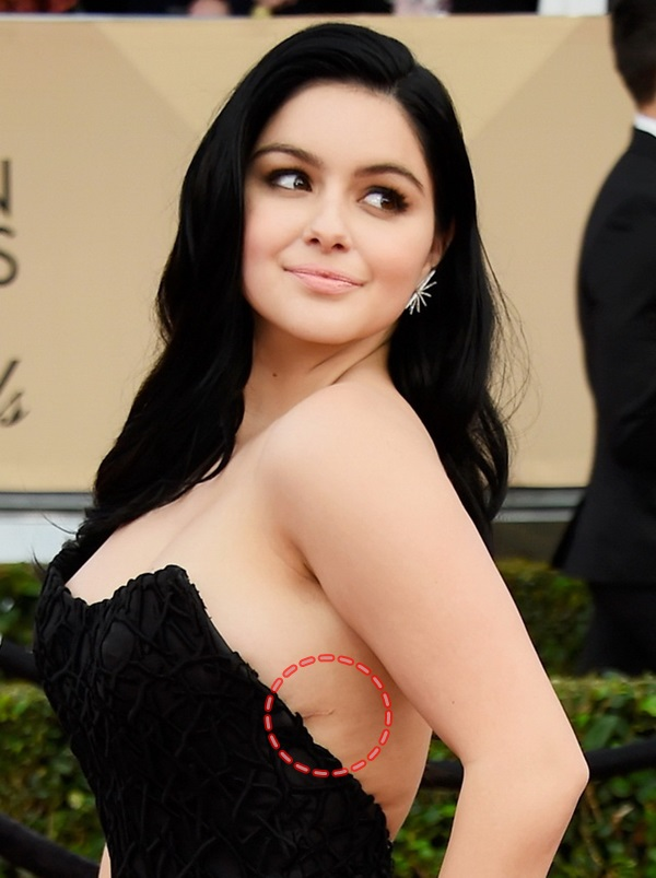 LOS ANGELES, CA - JANUARY 30: Actress Ariel Winter attends the 22nd Annual Screen Actors Guild Awards at The Shrine Auditorium on January 30, 2016 in Los Angeles, California. Frazer Harrison/Getty Images/AFP