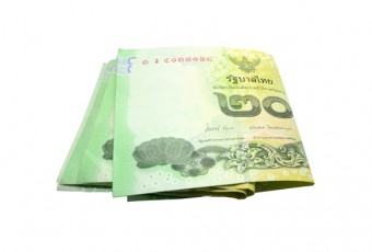 Thai money banknotes