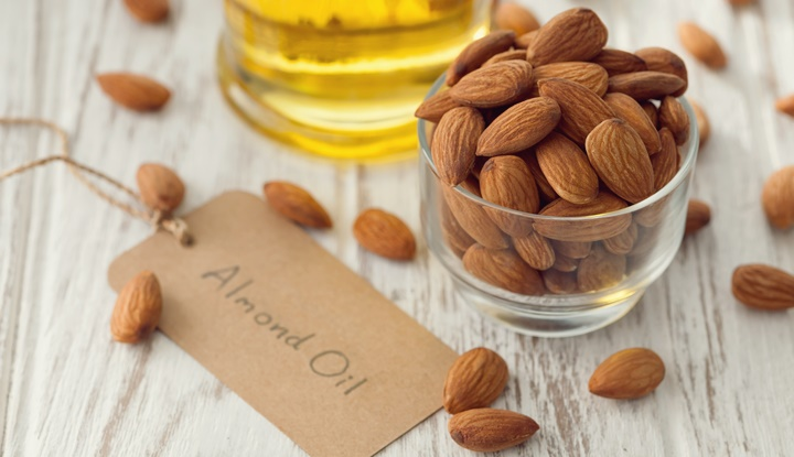 almond oil organic healthy nut vegan vegetarian healthy