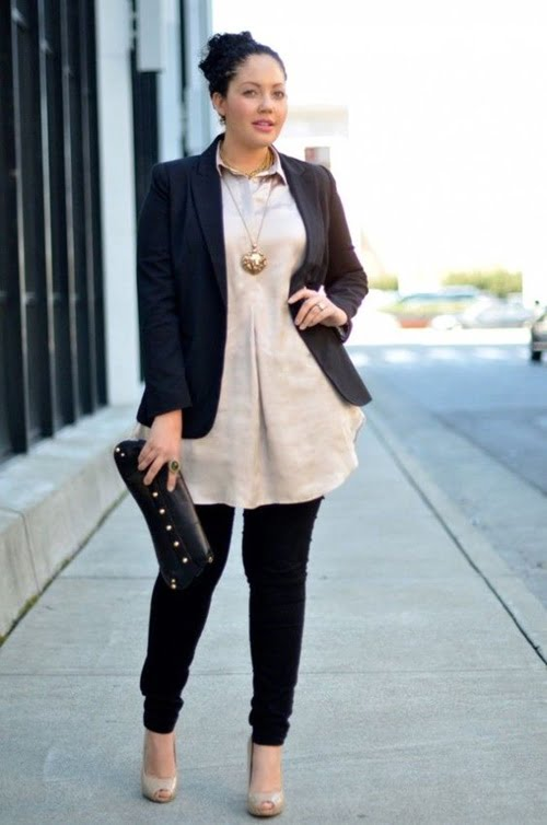 Work Outfits For Plus Size Women 18