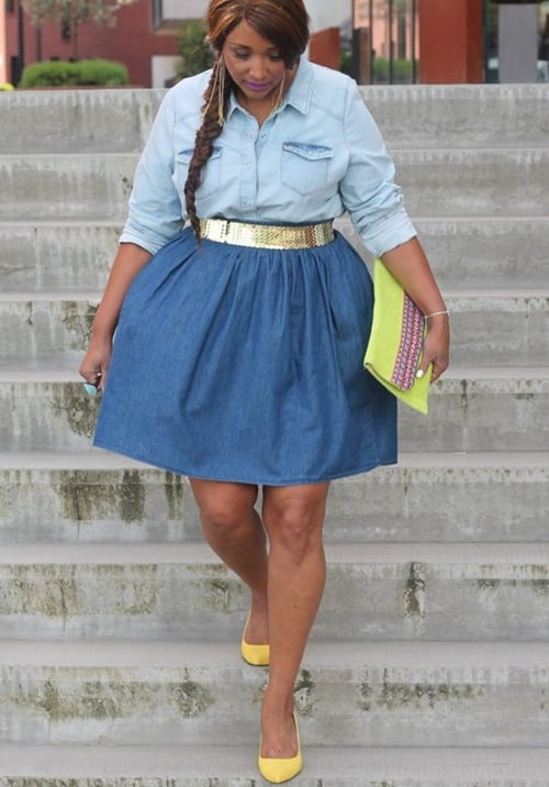 Work Outfits For Plus Size Women 21