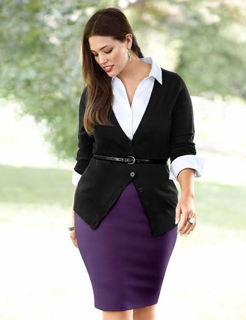 Work Outfits For Plus Size Women 25