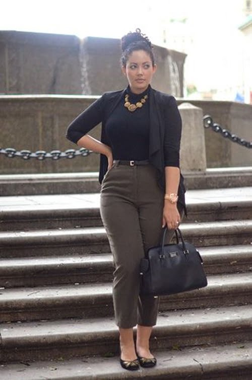 Work Outfits For Plus Size Women 26