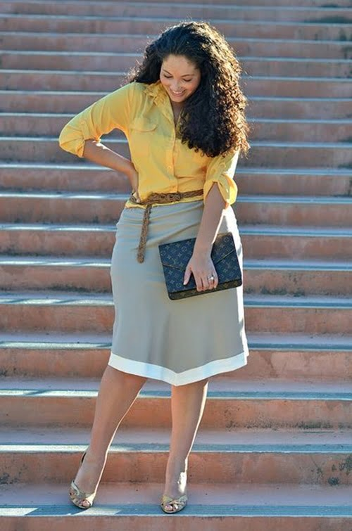 Work Outfits For Plus Size Women 27