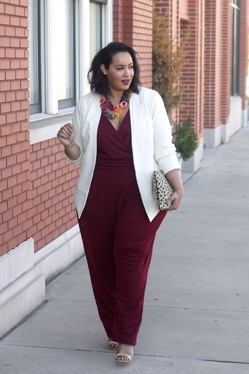Work Outfits For Plus Size Women 29