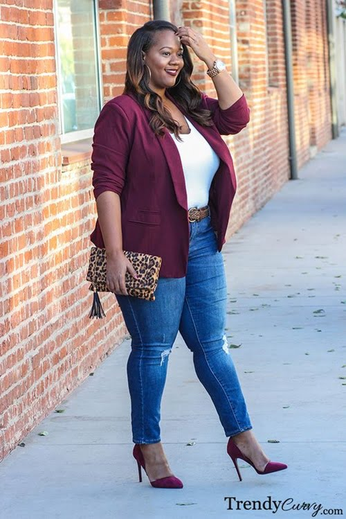 Work Outfits For Plus Size Women 9