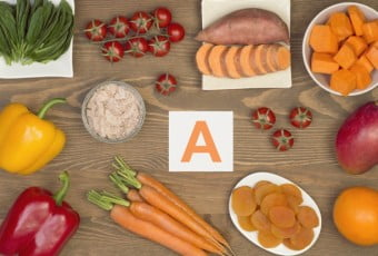 Food sources of beta carotene and vitamin A