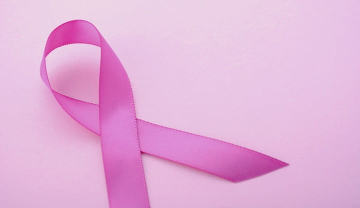 Pink Ribbon Charity for Womens Health Awareness ribbon.
