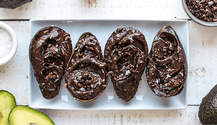 chocolate-avocado-pudding
